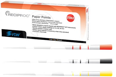 Product - RECIPROC® PAPER POINTS ZIPPERER