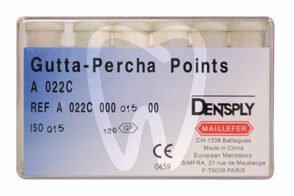 Product - ISO GUTTA-PERCHA POINTS SIZES 10-120 MAILLEFER
