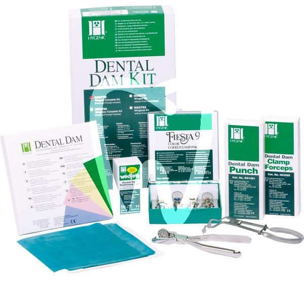 Product - KIT DENTAL DAM -H02778- HYGENIC