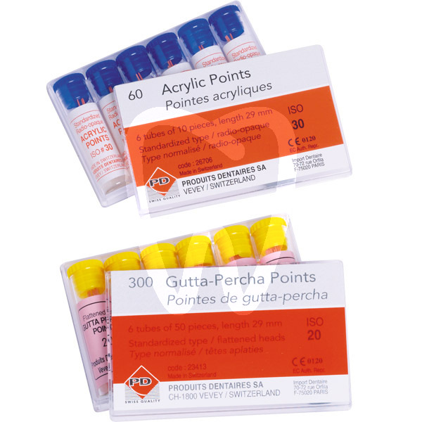 Product - ISO GUTTA-PERCHA POINTS SIZES 15-40 P.D.