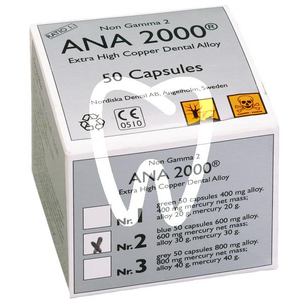 Product - AMALGAM ANA 2000 N.1 (50U.)