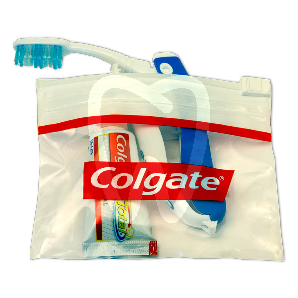 Product - TOOTHBRUSH AND TOOTHPASTE TRAVEL KIT