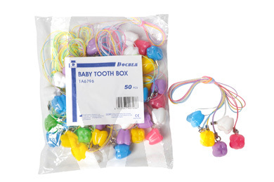 Product - BABY TOOTH BOX -1A6796- 50PCS ASS.