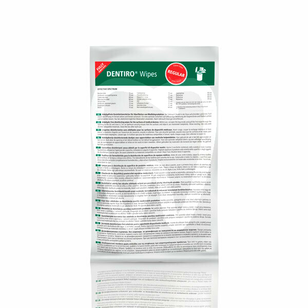 Product - DENTIRO DISINFECTANT WIPES REFILL