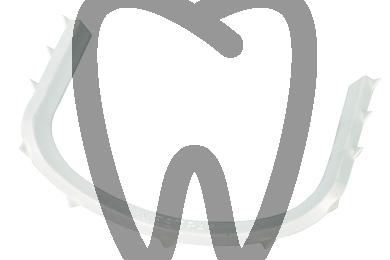 Product - PLASTIC COFFERDAM HOLDING ARCH  STERIL