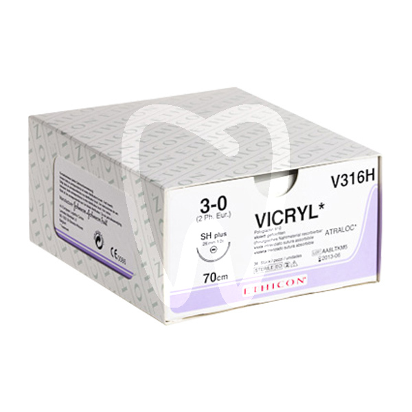 Product - VICRYL PLUS SUTURE 1/2C 17MM RB-1