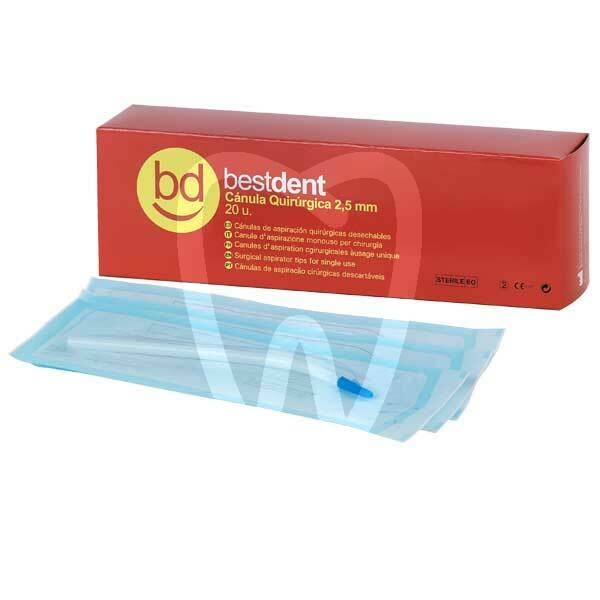Product - SURGICAL CANNULA 2,5mm (20u) BESTDENT