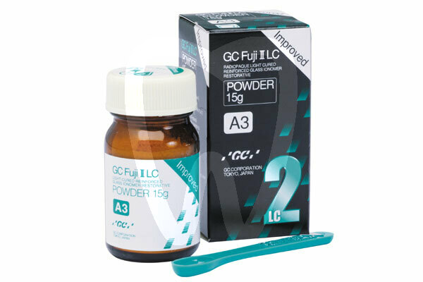 Product - GC FUJI II LC IMPROVED 15 G POWDER A3