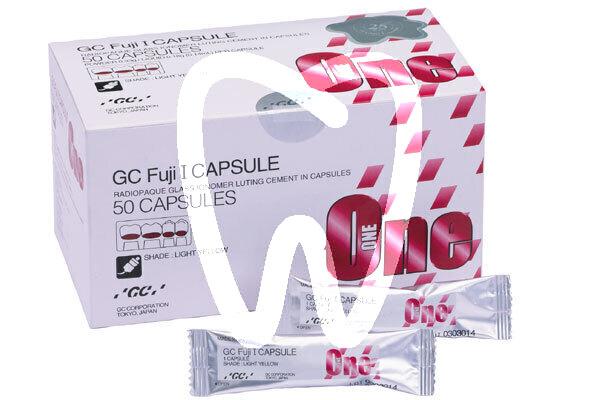 Product - GC FUJI I, 50 CAPSULES LIGHT YELLOW