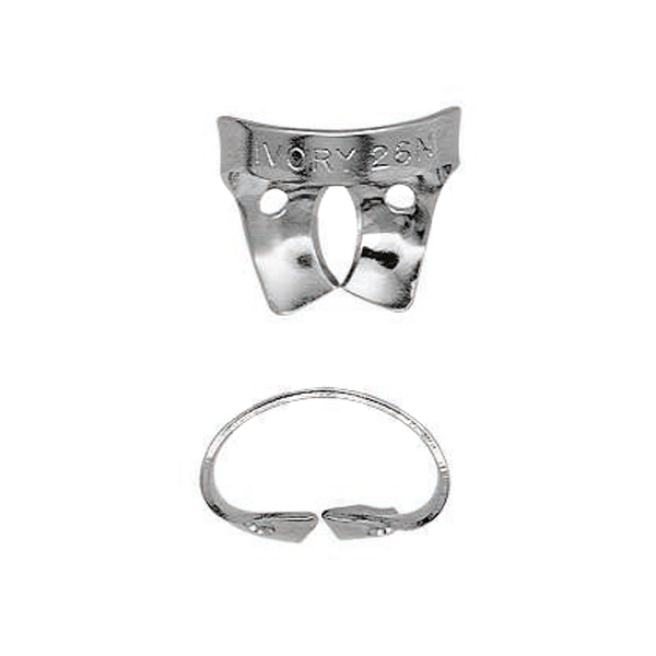 Product - WINGED/WINGLESS IVORY CLAMP ANTERIORS AND MOLARS REFILL