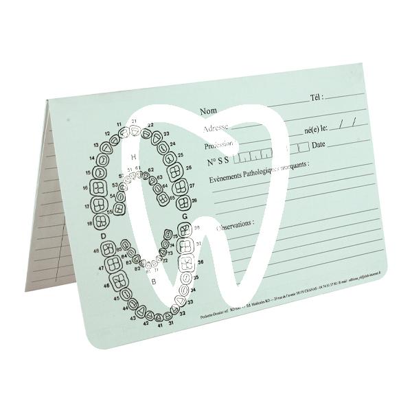 Product - DENTAL EXAM CARD HOLDER 125 units