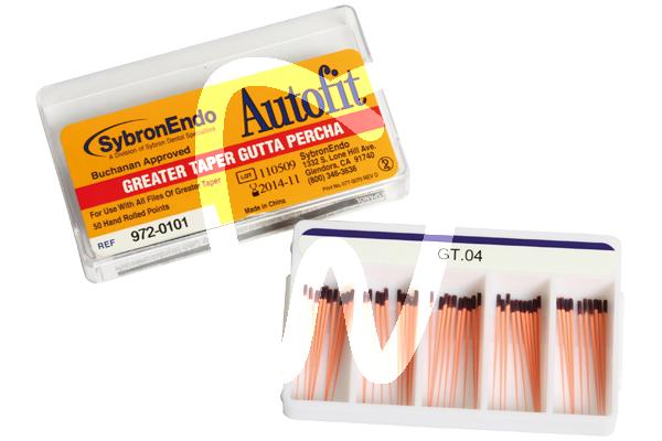 Product - GUTTA-PERCHA AUTOFIT TAPER .04-.08