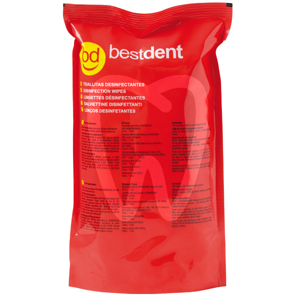 Product - DISINFECTANT WIPES REFILL EN 14476