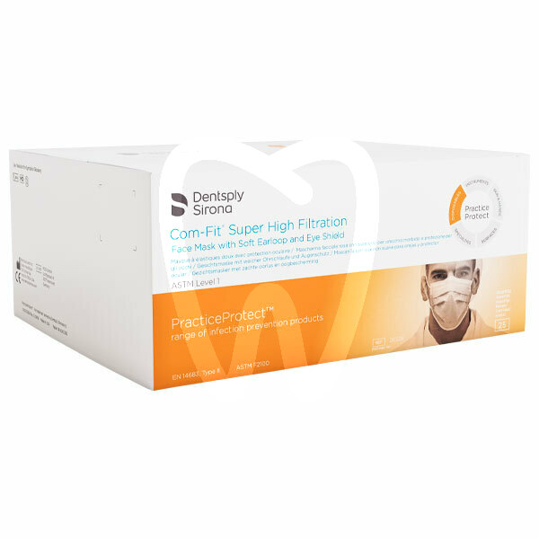 Product - COM-FIT RECTANGULAR FACE MASKS WITH FACE SHIELD