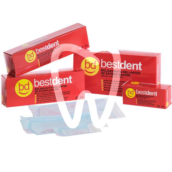 Product - STERILISING BAGS 7x25.5 (200u) BESTDENT