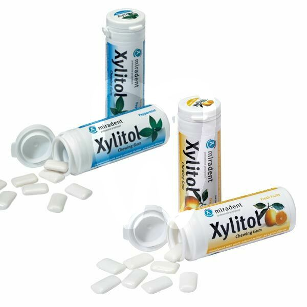 Product - XYLITOL CHEWING GUM MIRADENT