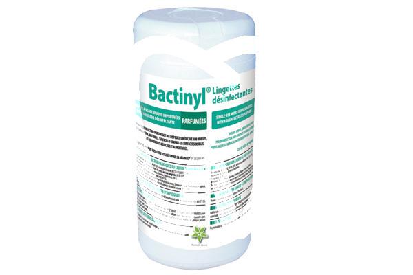 Product - BACTINYL DISINFECTANT WIPES EN 14476