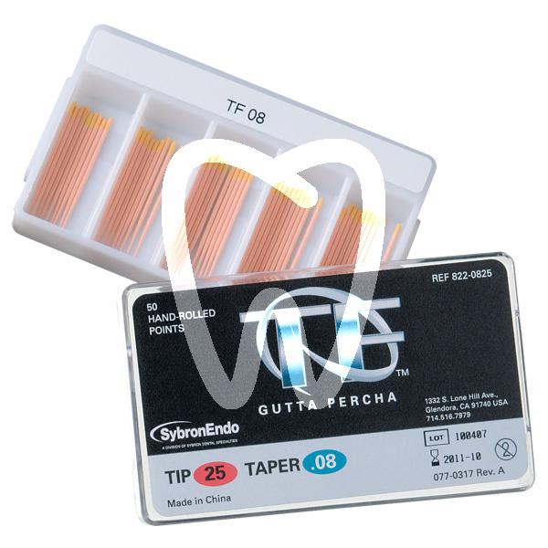 Product - TF GUTTA-PERCHA SIZE 25 TAPER .04-.012