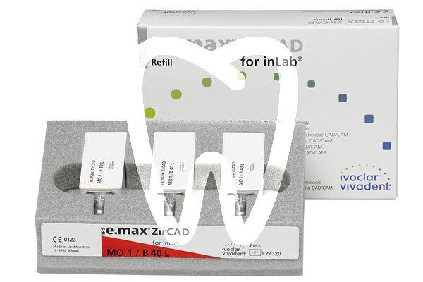 Product - IPS E.MAX ZIRCAD INLAB C15