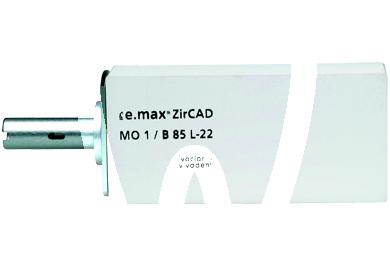 Product - IPS E.MAX ZIRCAD INLAB REFILLS MO0 B55 1 pc.