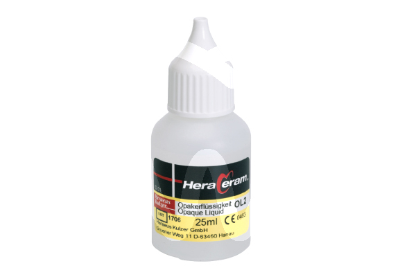 Product - HERACERAM OPAQUE LIQUID OL2 25ML