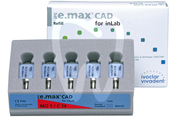 Product - IPS E.MAX® CAD FOR inLAB, MO