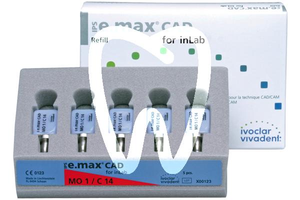 Product - IPS E.MAX® CAD CEREC/inLAB, HT I12/5