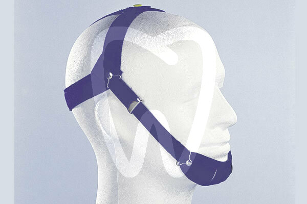Product - BLUE HEADGEAR WITH CHINREST