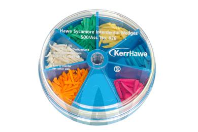 Product - WEDGES ASSORTED 500u -826- KERR-HAWE