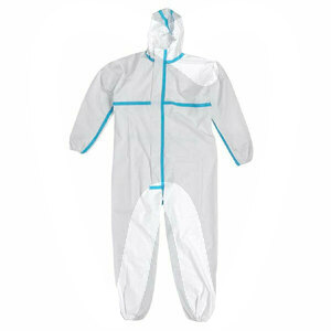 Product - PPE - WATERPROOF COVERALL WITH HOOD