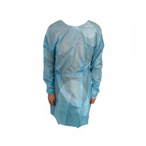 Product - PPE - BLUE WATERPROOF PROTECTIVE GOWNS SOGEVA
