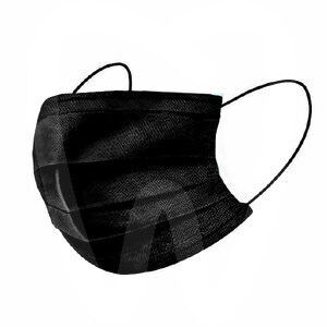 Product - PPE - BLACK SURGICAL MASKS