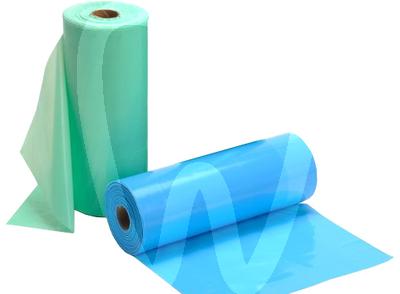 Product - ROLL PLASTIC + PAPER BIBS