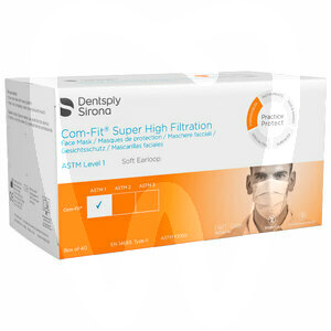 Product - COM-FIT RECTANGULAR FACE MASKS WITH EARLOOPS