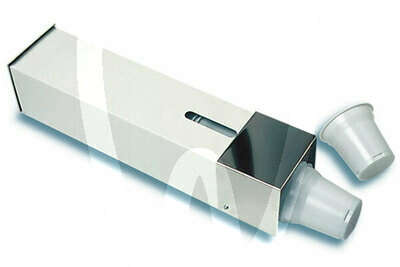 Product - PLASTIC CUPS DISPENSER METAL WHITE