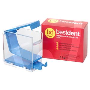 Product - COTTON ROLL DISPENSER BLUE BESTDENT