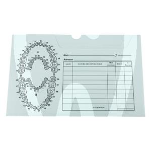 Product - DENTAL EXAM CARD POCKETS 100 UNITS