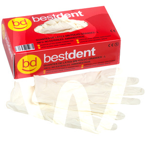 Product - PPE - POWDER-FREE LATEX GLOVES