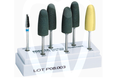 Product - PROSTHESIS POLISHING KIT EDENTA -090-