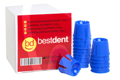Product - DISPOSABLE DAPPEN DISHES BLUE