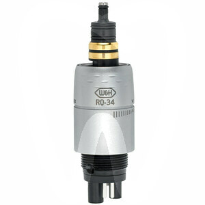 Product - ROTO QUICK COUPLING WITH LIGHT RQ-34 WITH SPRAY REGULATION FOR MIDWEST HOSES