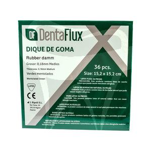 Product - RUBBER DAM MEDIUM GREEN DENTAFLUX