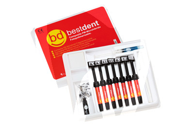 Product - MICRO HYBRID COMPOSITE KIT BESTDENT