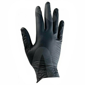 Product - PPE - NITRILE GLOVES S/P BLACK