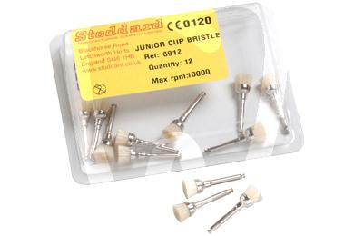 Product - JUNIOR CUP BRISTLE BRUSHES 12PCS