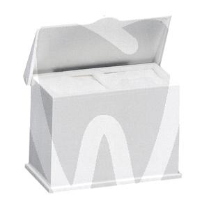 Product - DOUBLE PLASTIC GAUZE DISPENSER, WHITE