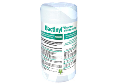 Product - BACTINYL DISINFECTANT WIPES EN 14476
