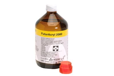 Product - FUTURACRYL 2000 LIQUID PINK-TRANSPARENT VEINED