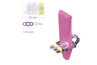 Product - MICRO SECTIONAL SCREW WITH BENT U-SHAPEDGUIDE PIN