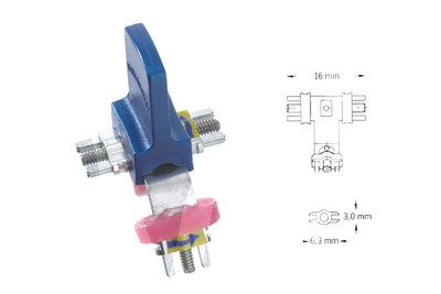 Product - EXPANSION SCREW, STAINLESS STEEL, VARIOUS SEGMENTS WITH ARM